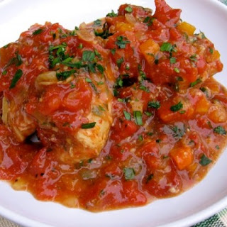 Skinny Slow Cooker Chicken Thighs Osso Buco.