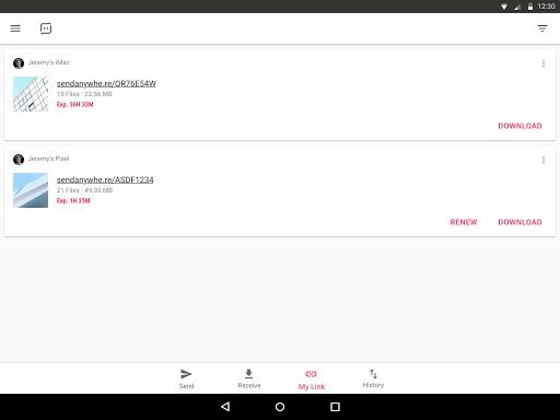Send Anywhere (File Transfer) 7.12.21 screenshots 9