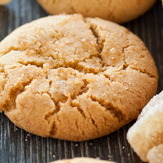 Soft Chewy Ginger Cookies.