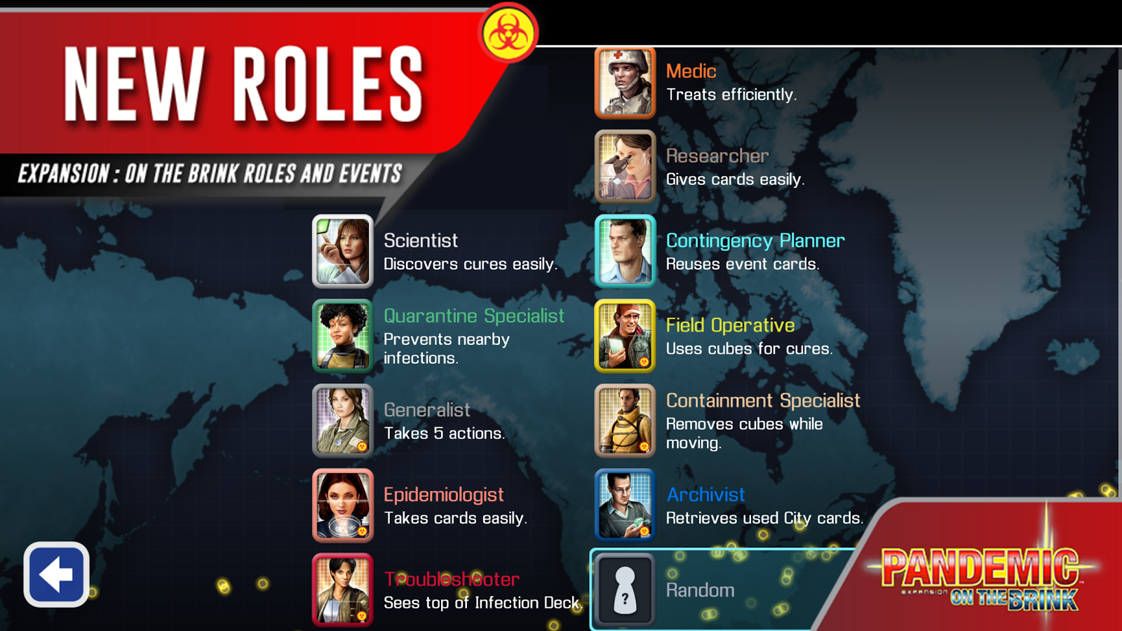 Pandemic: The Board Game- screenshot
