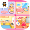 Sweet Baby Girl - Dream House and Play Time APK Icon
