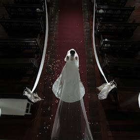 by Coco Bordeos - Wedding Bride ( love, altar, isle, march, wedding, marriage, bride )