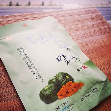 "Dried pumpkins from Korea! 100% natural...... ""蒸好的南瓜原條風乾 甜甜又有口感的零食"" 韓國同事既親身感受! 幾得意!  Place your order now via 92761467 or inbox us!  #surprise #surprisesnackbox #snacks #gift #surprisegift #hk #hkig #picoftheday #party #wedding #souvenirs #valentinesday #uk #英國 #驚喜 #送禮 #零食 #情人節 #neighborfarm #春茗 #開運 #trysomethingnew #driedpumpkin #korea #iloveyou"