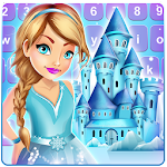 Ice Princess Keyboard Theme Icon
