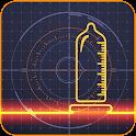 Penis size scanner prank icon