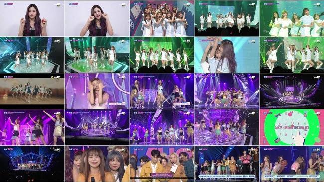 190409 (1080p) IZONE Part – SBS MTV The Show
