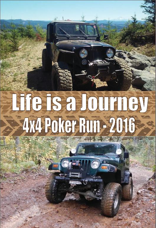 Tillamook state forest poker run