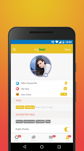 Italy Social - Chat & Meet Italians on Dating App screenshots 3