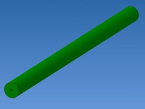 Photo: le contrepoids  une barre ronde ou un tube métallique