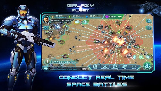 Galaxy Fleet: Alliance War- screenshot thumbnail