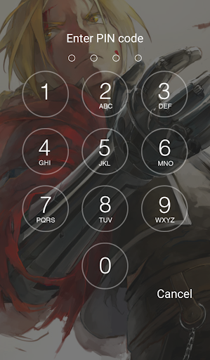 Anime Lock Screen HD app (apk) free download for Android/PC/Windows screenshot