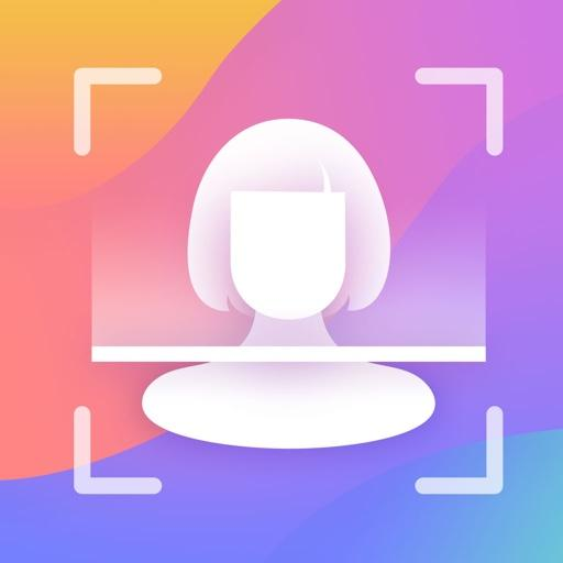 Test Master - Face Aging Scanner, Grown Up, Palm Icon