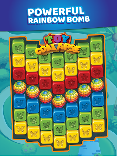 Toy Collapse: Match3 Blast Crush Toon Cubes Puzzle - screenshot
