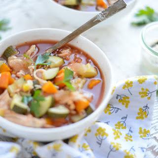 Slow Cooker Chicken, Veggie and Quinoa Stew