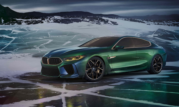 BMW showed its M8 Gran Coupe concept which will be the flagship for the entire BMW range in 2019