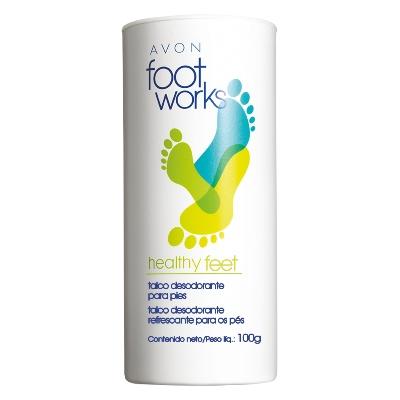 desodorante para pies avon talco 100gr