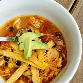 21 Day Fix Chicken Tortilla Soup.