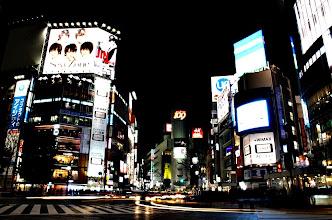 Photo: Shibuya crossing