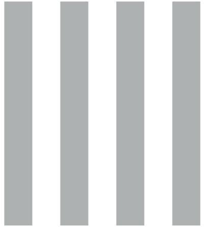 Christiana Masi Hashtag 5661 Tapet med ränder, Grå/Vit
