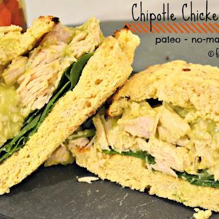 Chipotle Chicken Salad Sandwich {paleo, no-mayo, gluten free)
