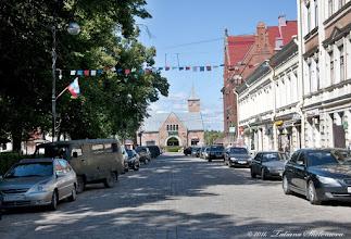 Photo: Проспект Ленина. Вдали здание рынка.