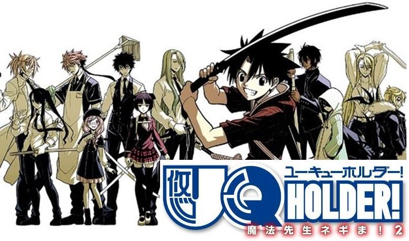 [Anime News] UQ Holder! เป็นอนิเมแล้ว!