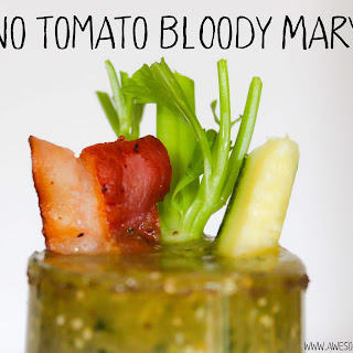 Green Bloody Mary.