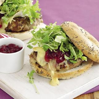 Turkey and Camembert Rissoles.