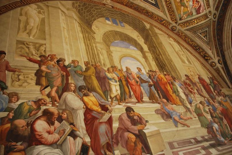 School of Athens, Raphael, Vatican, Sistine Chapel