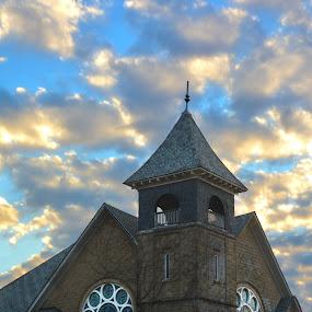 Pearl Church by Chandal Chenier - Buildings & Architecture Public & Historical ( church, texas, historical )