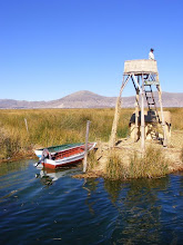 Photo: The Floating Islands of Uros on Lake Titicaca
