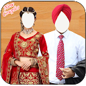 Wedding Sikh Couples Dress Suits icon