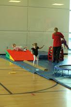 Photo: Emmy gymnastics class