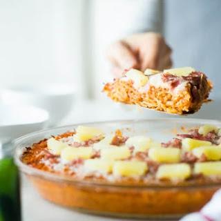 Hawaiian Baked Spaghetti Squash Casserole Recipe