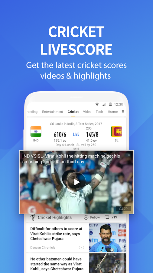 cricket livescore