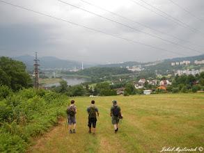 Photo: Při odchodu z lokality se na nás hnala bouřka díky které jsme exkurzi nakonec málem zrušili.