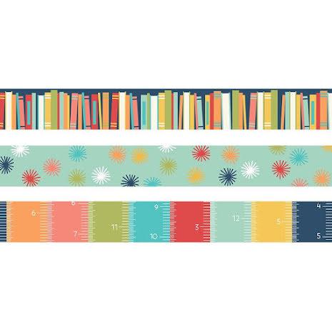 Simple Stories Washi Tape 3/Pkg - School Life