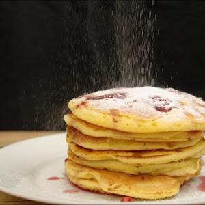 Raspberries Pancakes