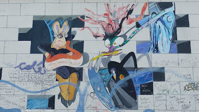 "Photo: East Side Gallery;  Lance Kelle ""The Wall"""