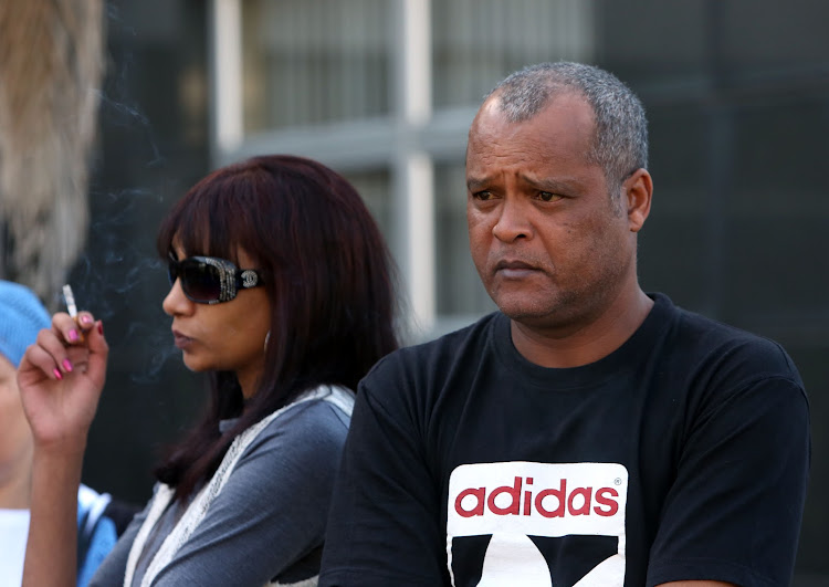 Raylene and Kirk Louw, the parents of Miguel outside the Durban Magistrate's Court on August 29, 2018.