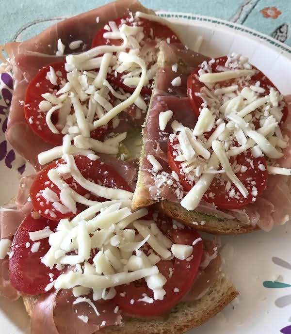 Pesto And Prosciutto Sandwich Recipe