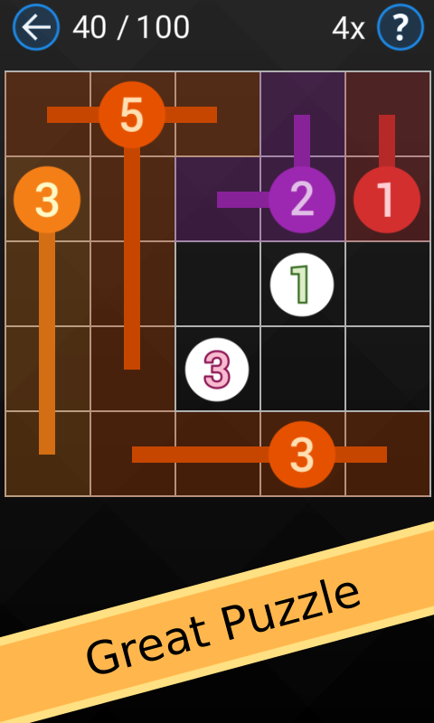 Fill Grid - Number Puzzle- screenshot