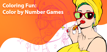 How to Download and Play Coloring Fun : Color by Number Games on PC, for free!