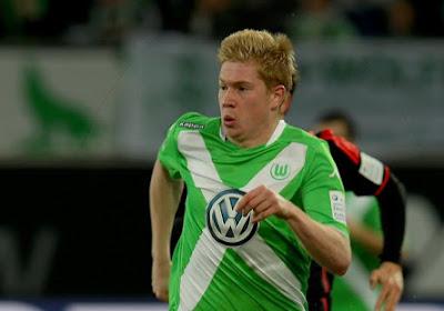 De Bruyne marque, Wolfsburg accroché