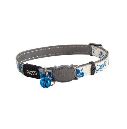 Rogz Glowcat Halsband Small Blå 11mm 20-31cm