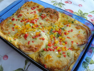 Crabby Patty Brunch Bake Recipe