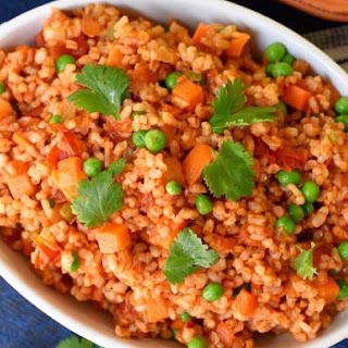 Spanish Brown Rice.