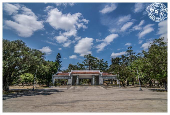 大東溼地公園入口拱門