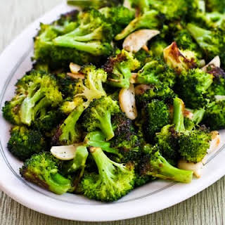 Roasted Broccoli with Garlic.