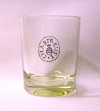 Photo: Un verre des années 1970/80, pour une Chartreuse sur glace comme cela était recommandé à l'époque...